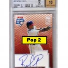 Rafael Furcal Auto 2003 Topps Opening Day Autographs #RF Cardinals, Dodgers, Braves Pop 2