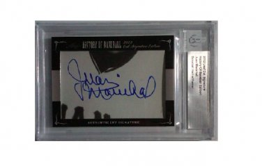 Juan Marichal 2012 Leaf History of Baseball Cut Signature Edition Autograph Giants HOF