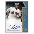 "Carlos Santana Auto 2011 Topps Tier 1 'On the Rise"" Autograph #OR-CS Indians"