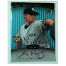 Ian Kennedy 2008 UD Premier #201 Autographed Yankees, Padres #/299