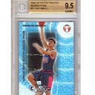 Yao Ming RC 2002-03 Topps Pristine Refractors  #51-C Rockets #/1899