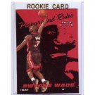 Dwyane Wade RC 2003-04 Fleer Tradition Playground Rules  #5 of 20 PR Miami Heat
