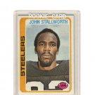 John Stallworth 1978 Topps #320 Steelers RC