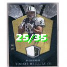 Dustin Keller 2008 UD Icons Rookie Brilliance Jersey Patch #RB16 Dolphins Jets #/35