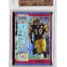 Willie Parker 2005 Bowman Chrome Red Refractor RC BGS 9.5 Steelers