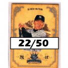Hideki Matsui #/50 2004 Diamond Kings #124 Yankees