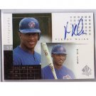 Vernon Wells 2000 SP Authentic Chirography Autograph #VW Yankees, Angels