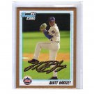 Matt Harvey 2010 Bowman Draft Prospects Gold #BDPP84  Mets