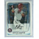 Bryce Harper RC 2011 Bowman Chrome Prospect #BCP1 Nationals