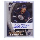 Dustin Penner 2009-10 Trilogy Super Star Scripts Autograph #ss-pe KINGS