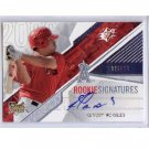 Kendry Morales 2006 SPx Rookie Signatures Autograph #149 Angels, Mariners RC
