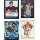 Matt Moore RC 4 card Rookie Lot Tampa Bay Rays