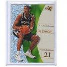 Tim Duncan RC 1997-98 EX 2001 RC #75 Spurs Rookie