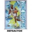 Tony Parker 2002-03 Topps Chrome Zone Buster's Refractor #ZB11 Spurs