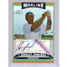 Hanley Ramirez 2006 Topps Chrome Autographed Refractor RC #352 Dodgers, Red Sox, Marlins