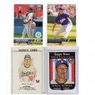Hiroki Kuroda RC Lot  2008 4-Card Rookie Lot Yankees, Dodgers