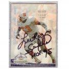 Lee Roy Selmon Autographed card Tampa Bay Buccaneers HOF