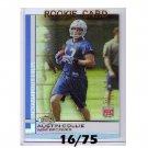 Austin Collie 2009 Finest Pigskin Gold Refractor RC #93 49ers, Colts