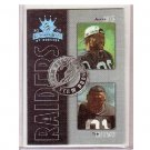 Jerry Rice 2002 Gridiron Kings Team Duos #TD10 Tim Brown  Raiders 49ers