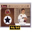 #/50 Kyle Orton 2005 Bowman Throwback Threads #BRT-KO Cowboys, Bears  RC