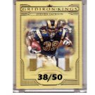 Steven Jackson 2008 Threads Pro Gridiron Kings Materials Prime #8 3-Color #PGK-8 Falcons, Rams