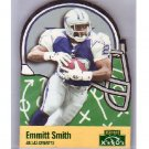 Emmitt Smith 1996 Playoff Prime X's and O's #111 Cowboys
