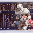 Emmitt Smith 1998 Leaf R&S Greatest Hits #11 Cowboys #2385/2500
