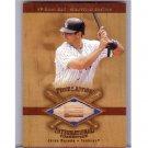 Jorge Posada 2001 SP Game Bat Milestone Edition Piece of Action International #I-JP Yankees