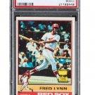 Fred Lynn 1976 Topps #50  Boston Red Sox PSA 9 (OC) Mint