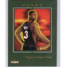 Dwyane Wade #/699 RC 2003-04 Fleer Avant #69 Green Framed RC  Miami Heat