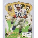 Barry Sanders 1995 Pacific Gold Crown Die Cuts Flat Gold #DC6 Lions