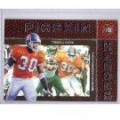 Terrell Davis 1997 UD3 Pigskin Heroes #87 Broncos