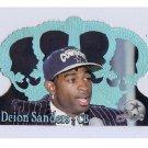 Deion Sanders 1995 Crown Royale Blue Holofoil #33 Cowboys