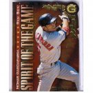 Nomar Garciaparra #/500 1997 Donruss Spirit of the Game Gold Press Proof #412 Dodgers #/500