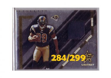 Steven Jackson RC 2004 Leaf R&S Longevity Jerseys #281 Falcons, Rams #284/299