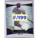 Hanley Ramirez 2009 Bowman Sterling World Classic Refractor Relic #BCR-HR Dodgers
