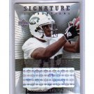 Jerricho Cotchery RC 2004 UD Signature Foundations Autograph #SF-JC Jets, Steelers