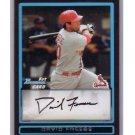 David Freese 2009 Bowman Prospects #BP38 Cardinals 1st Bowman Card!