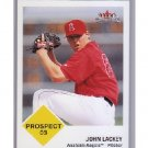 John Lackey  2003 Fleer Tradition 40th Anniversary Prospect #447  Cubs, Red Sox