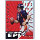 John Elway  1997 Pinnacle Certified Epix #E20 Game  Broncos HOF