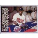 David Ortiz 1998 Leaf Rookies & Stars Freshman Orientation #12 Twins, Red Sox RC #/5000
