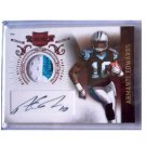 Armanti Edwards 2010 Panini Plates and Patches 3-Color Prime Patch #202 Panthers