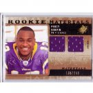 Percy Harvin RC 2009 SPx Rookie Materials Jersey #RM-PH Seahawks, Vikings #/249