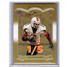 #1/5 Willis McGahee 2003 Donruss Classics Rookie #176 National Convention Parallel Broncos Ravens