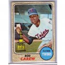 Rod Carew 1968 Topps #80 Twins HOF