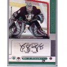 """Jean-Sebastien Giguere 2005-06 UD """"Be a Player"""" Autograph #JG Ducks, Leafs"""