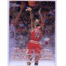 Michael Jordan 1998-99 Topps Chrome Back 2 Back #B1   Bulls