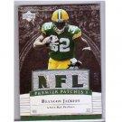 Brandon Jackson 2007 Upper Deck Premier Patches Triple #PP3BJ Packers, Browns #/99