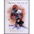 #/49 Marvin Jones 2012 Prime Signatures Rookie Autographs Silver #209 Bengals
