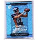 Eric Decker 2010 Topps Platinum Rookie Refractor #151 Broncos